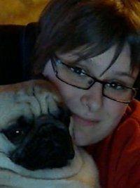 Moi avec mon chiens Erkos