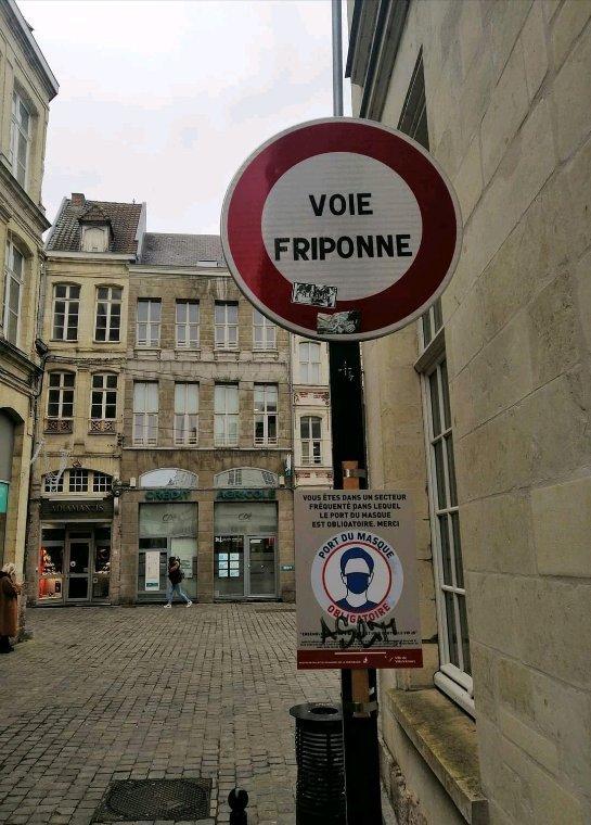 Nouveaux panneaux sur Valenciennes.