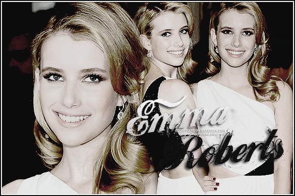 Bienvenue sur RobertsEmmaFR, ta source pour suivre l'actualité de Emma Roberts!