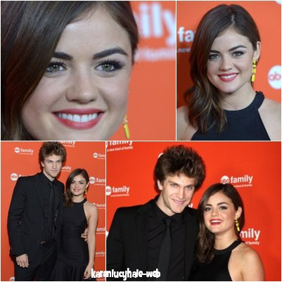 1er Mai : Lucy était aux  ABC Family Hosts West Coast Upfronts