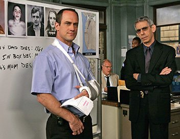 Christopher Meloni et Richard Belzer