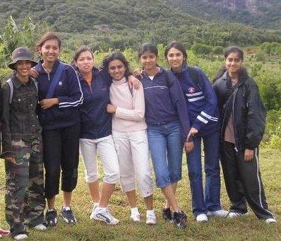 CSE au Domaine De la Grave :: Girls
