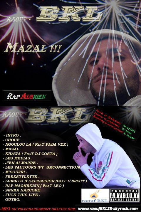 L'album MAZAL de RAOUF BKL