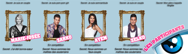Secret Story 5 : Les participants