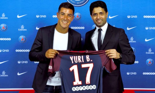 Paris-Saint-Germain-1970│Mercato │Officiel : Yuri Berchiche est Parisien !