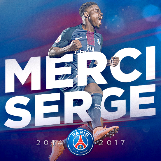 Paris-Saint-Germain-1970 │Mercato │Officiel : Serge Aurier quitte le Paris Saint-Germain !