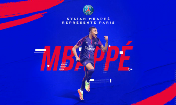 Paris-Saint-Germain-1970 │Mercato │Officiel : Kylian Mbappé au Paris Saint-Germain !