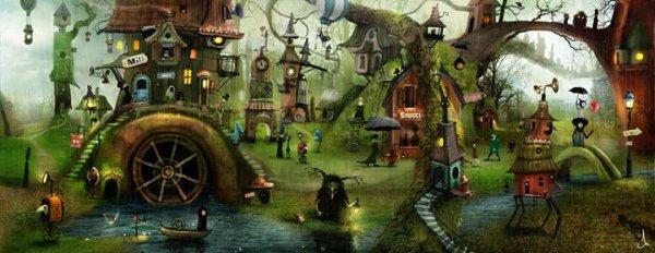 « Tout étrange que cela peut paraître les choses bonnes à avoir et les jours bons à passer sont tôt racontés et n'offrent pas grand intérêt.  » JRR Tolkien