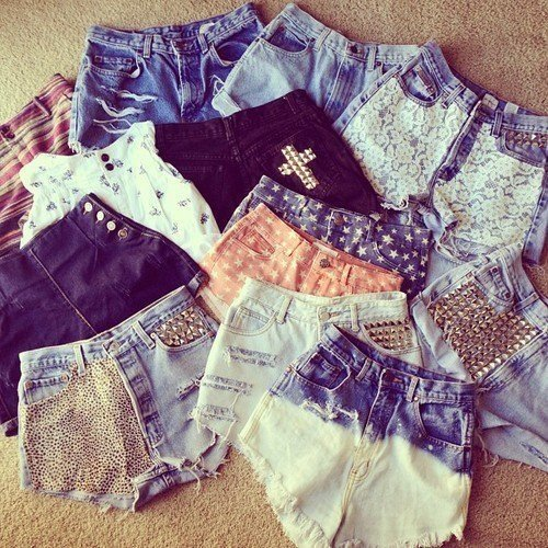 Shorts en denim