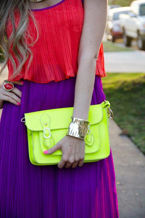 Couleurs fluo & Colorblock