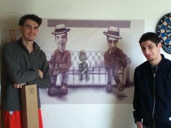 Réalisations de caricatures/ stikers/ portraits/ retouche photo anciennes