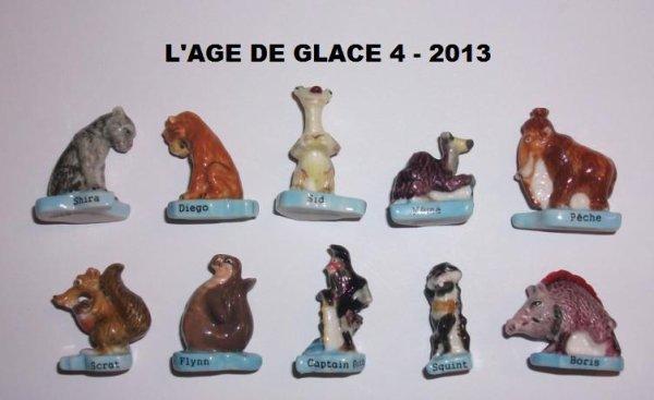 ECHANGE SERIE  OU VENTE :   AGE DE GLACE 4 - 2013