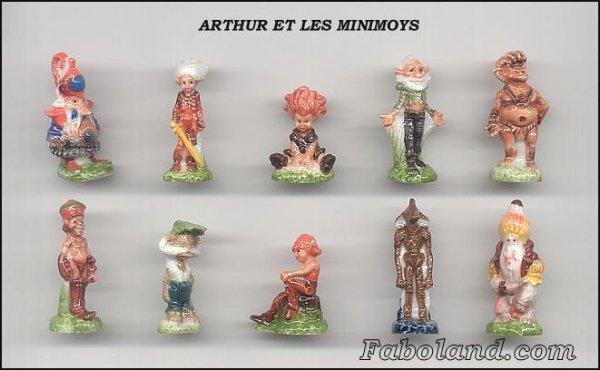 ECHANGE SERIE  OU VENTE :  ARTHUR - ARTHUR ET LES MINIMOYS - 2007