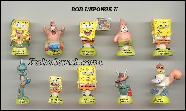 ECHANGE SERIE OU VENTE - BOB L'EPONGE - 2007