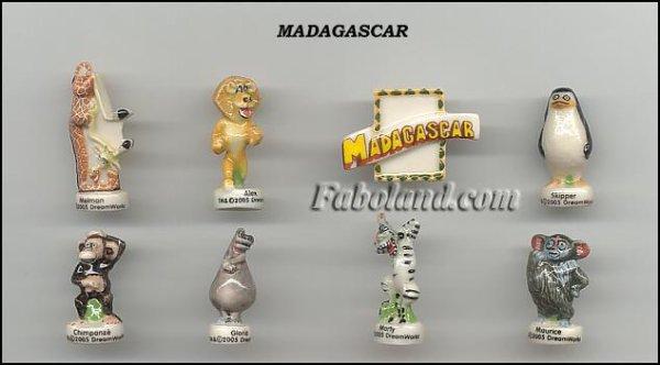 ECHANGE SERIE OU VENTE - MADAGASCAR - 2006