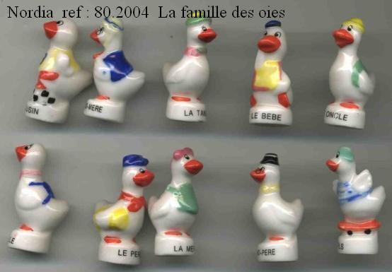 ECHANGE SERIE OU VENTE - OIES PASQUIER - 2004