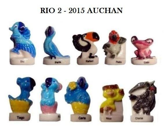ECHANGE SERIE OU VENTE - RIO 2 - 2015