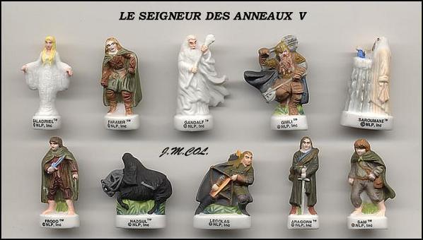 ECHANGE SERIE OU VENTE - SEIGNEUR DES ANNEAUX V - 2004