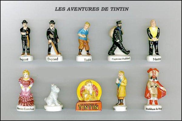 ECHANGE SERIE OU VENTE - AVENTURES DE TINTIN - 2012