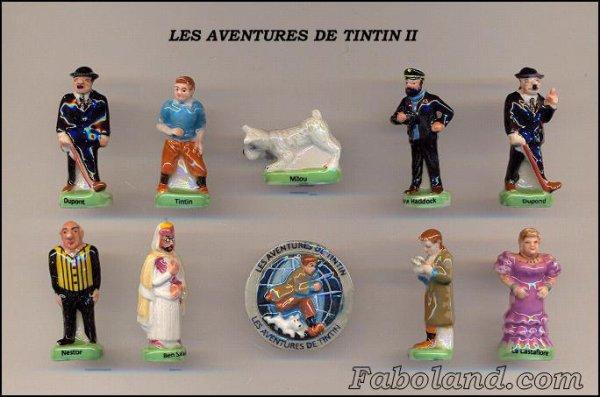 ECHANGE SERIE OU VENTE - AVENTURES DE TINTIN II - 2013