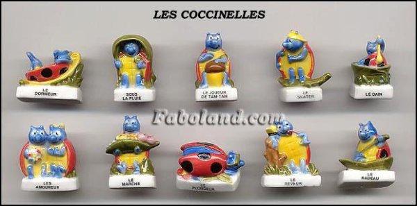ECHANGE SERIE OU VENTE - COCCINELLES - 2005
