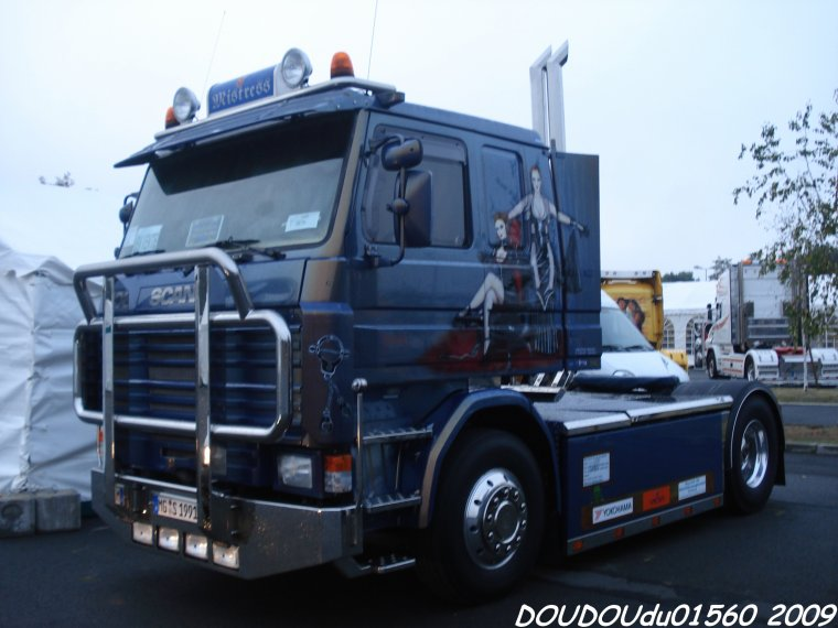 Scania 143 V8 Mistress  - 24H du Mans 2009
