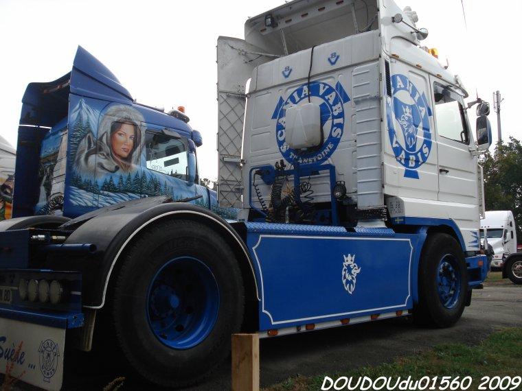 Scania 143H 500 V8 Transtoine - 24H du Mans 2009