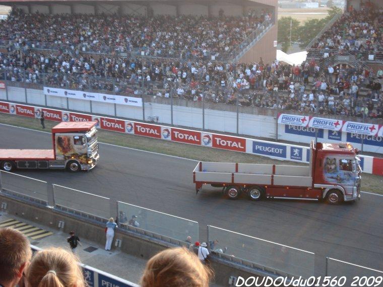 Daf XF Pierrard et fils - 24H du Mans 2009