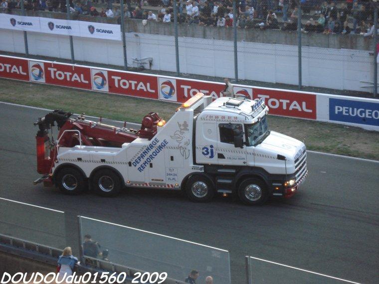Dépanneuses - 24H du Mans 2009