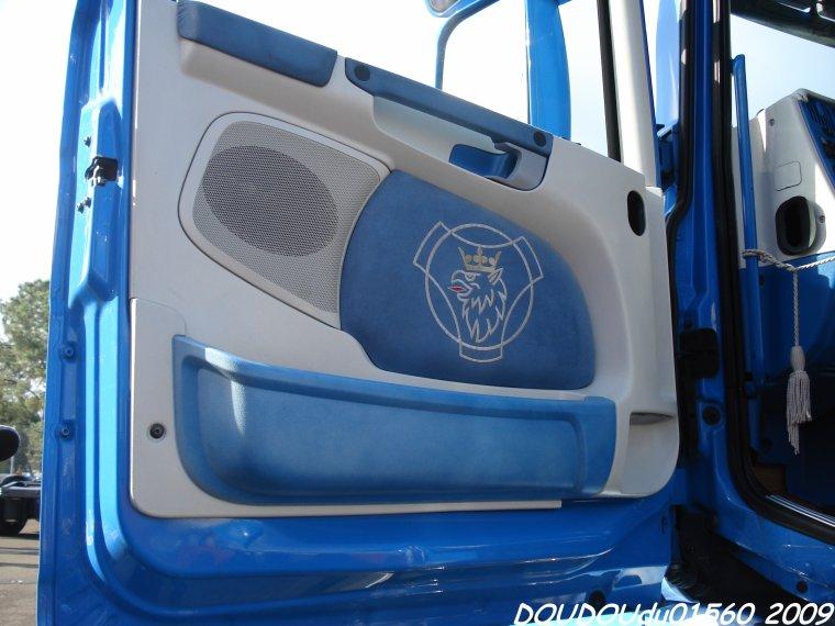 Scania T580 V8 et Steyr Silo Melmer - 24H du Mans 2009