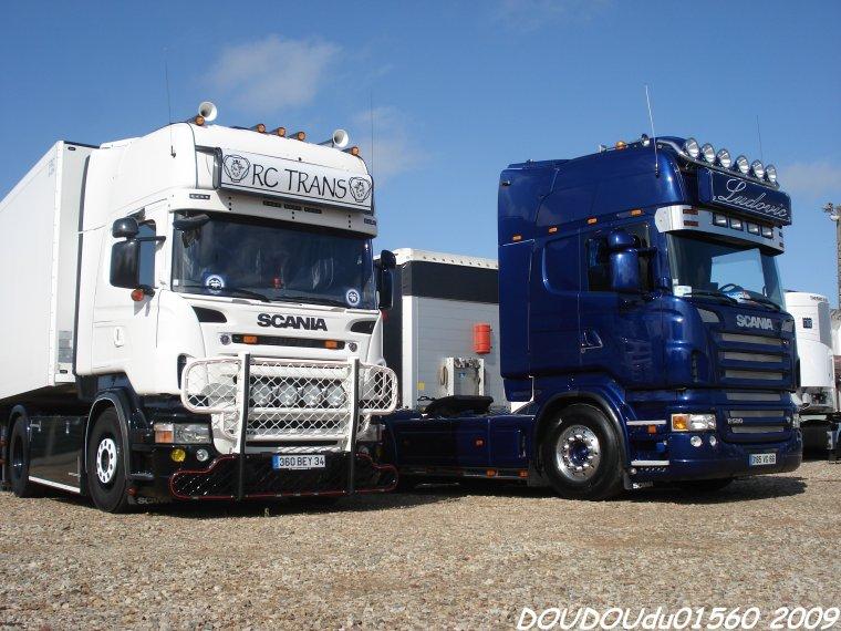 Scania R580 V8 - 24H du Mans 2009