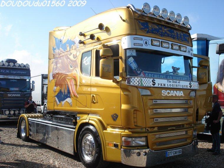 Scania Longline 164L 580 V8 PKM Logistique  - le Mans 2009