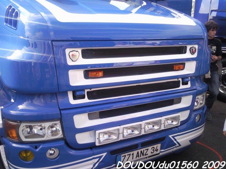 Scania T500 V8 Elytrans-Line - 24H du Mans 2009