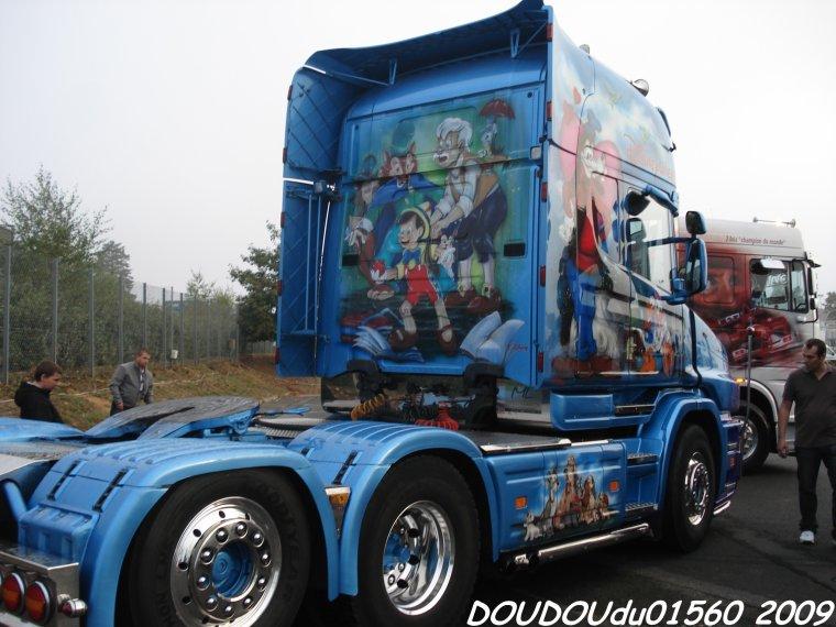 Scania T500 V8 Nord Provence Nord - 24H du Mans 2009