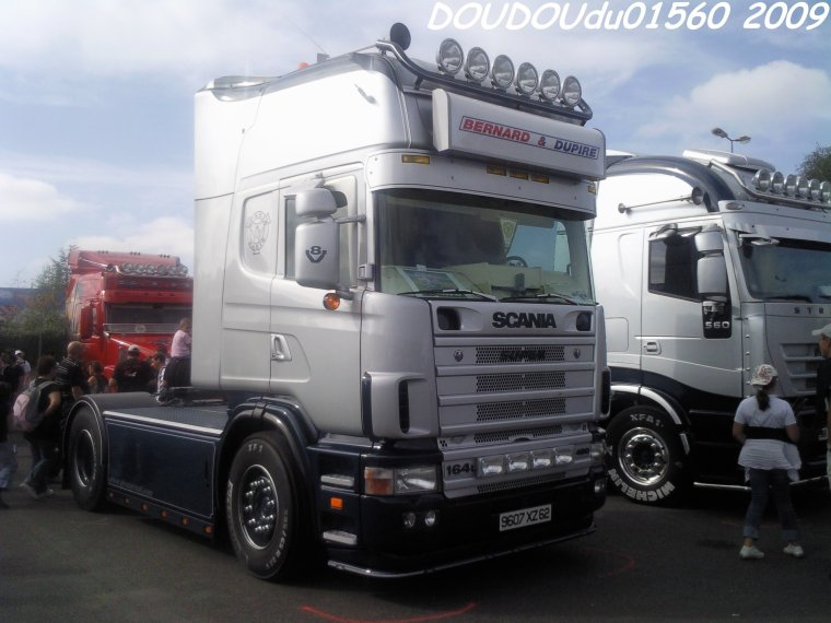 Scania 164L 480 V8 Bernard et Dupire - 24H du Mans 2009
