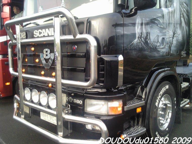 Scania 164L 580 V8 Transports Durand - 24H du Mans 2009