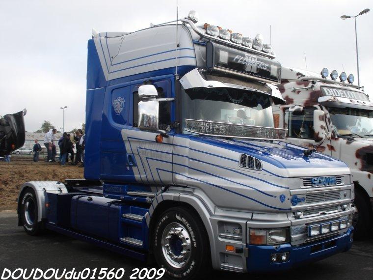 Scania T West Line Flowers - 24H du Mans 2009