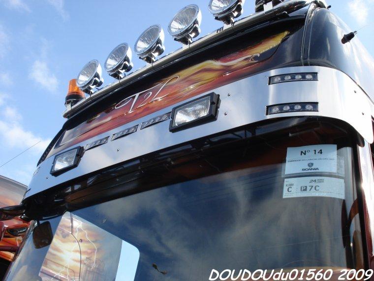 Scania R620 V8 T2L - 24H du Mans 2009
