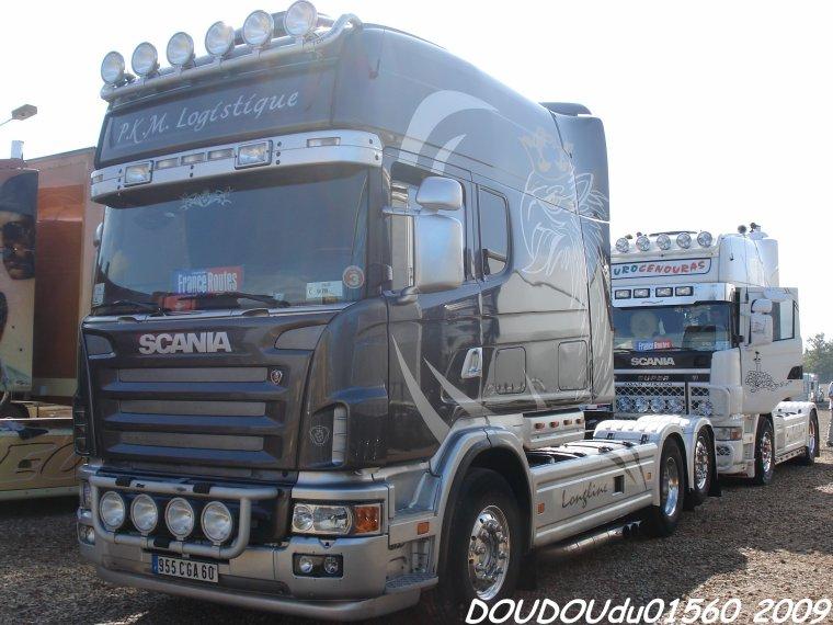 Scania Longline 164L 580 V8 PKM Logistique - 24H d Mans 2009