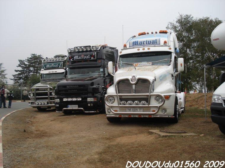 Scania T et Kenworth T2000 Marival - 24H du Mans 2009