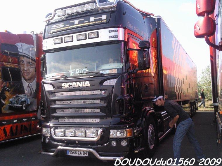 Scania R580 V8 STH - 24H du Mans 2009