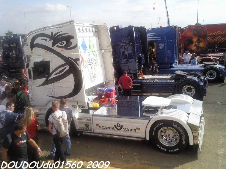 Scania R500 V8 Transports Briards - 24H du Mans 2009