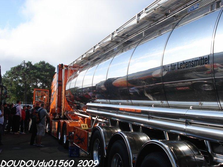 Scania R500 V8 Longline R. Singer - 24H du Mans 2009