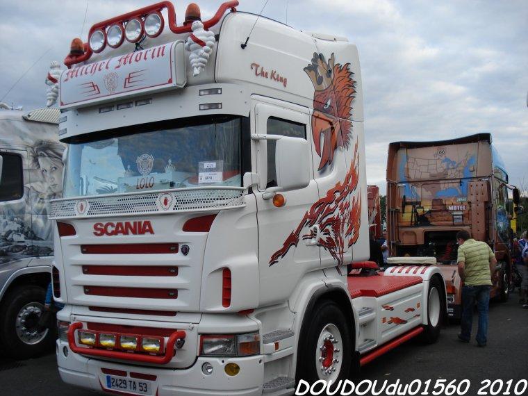 Scania R500 V8 Michel Morin - 24H du Mans 2010