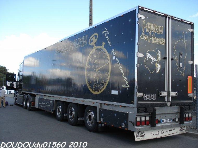 Scania Torpedo Longline Maurin des Maures - 24H du Mans 2010