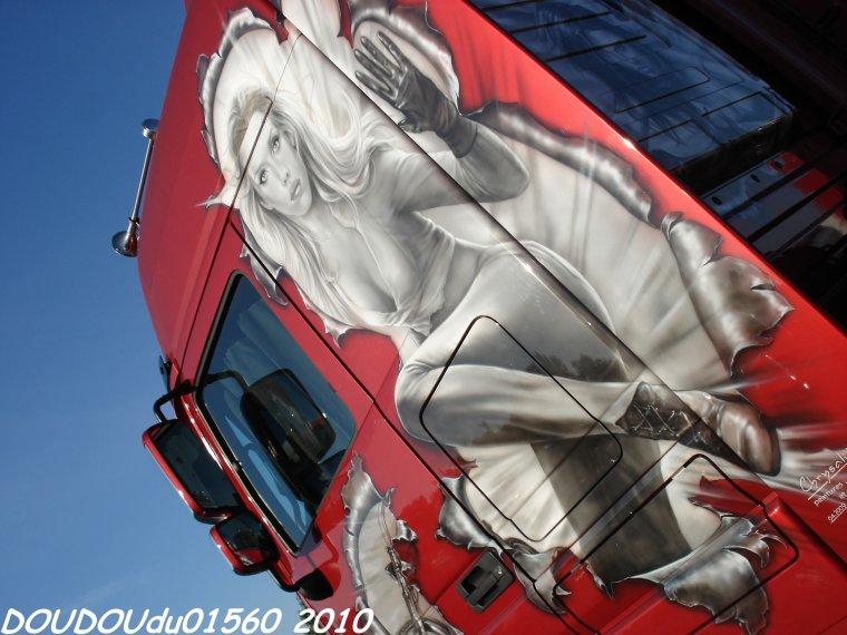 Transports BFT - 24H du Mans Camions 2010