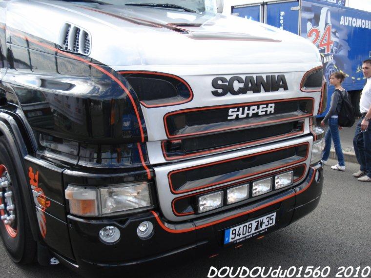 Scania Torpedo Regis - 24H du Mans 2010