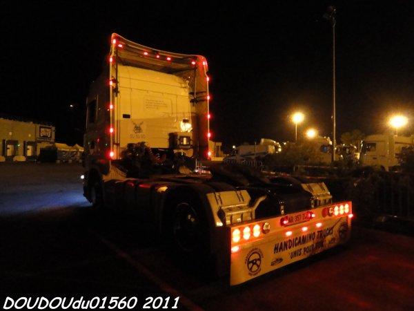 Scania R420 TESTUD Vrac - Handicaminotrucks Montélimar 2011