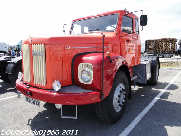 Camions anciens - Handicaminotrucks Montélimar 2011