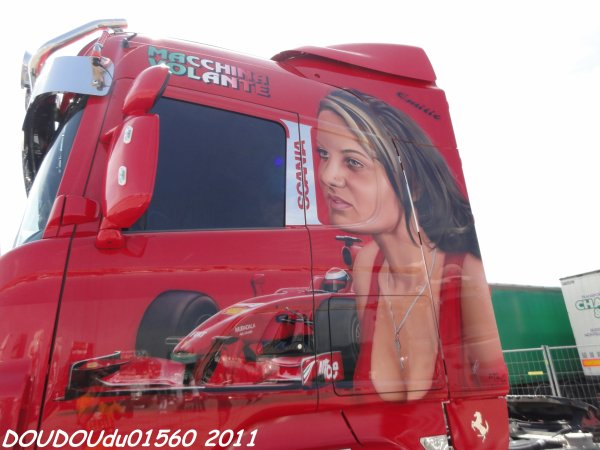 Scania R620 V8  - Handicaminotrucks Montélimar 2011
